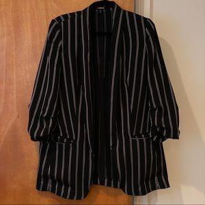 Banana Republic striped blazer